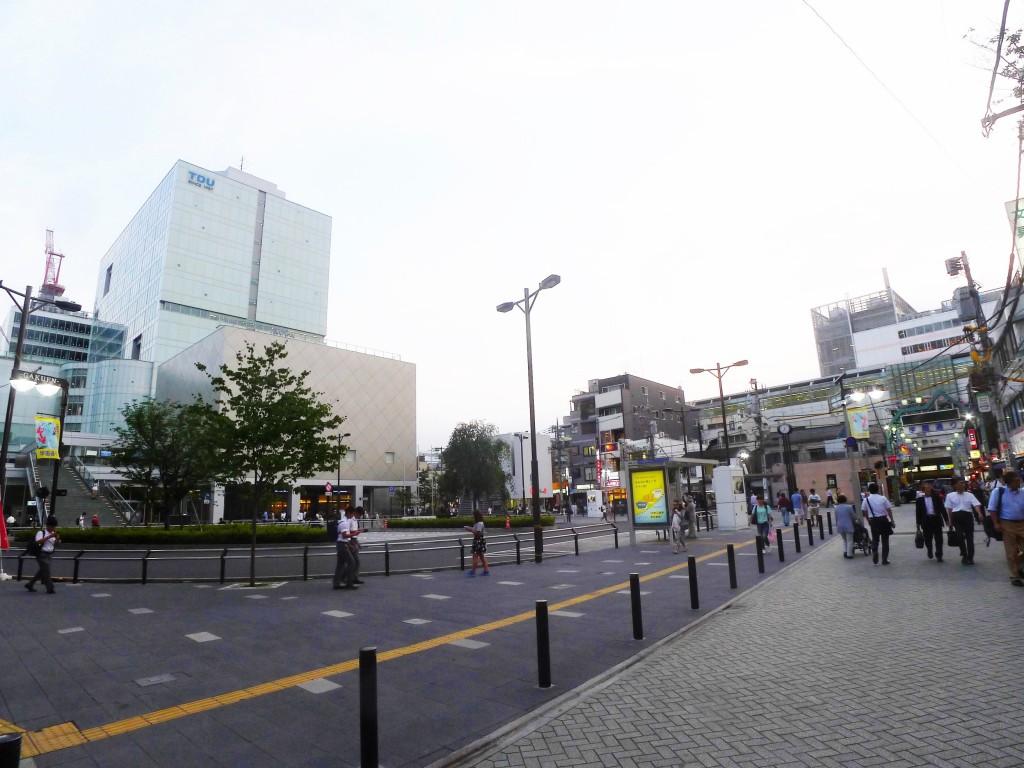 北千住駅 駅前広場