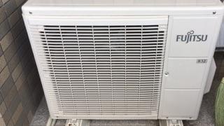 エアコン室外機のお掃除で電気代の節約!!