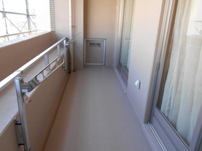 分譲マンションの入居者へ大規模修繕工事の時の洗濯物対策
