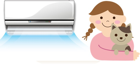 エアコンクリーニング|マンション生活夏の準備にオススメ!