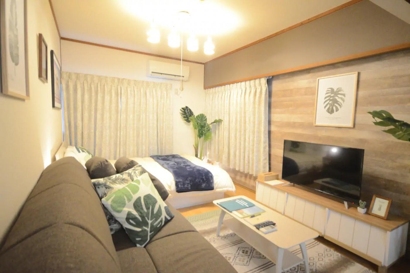グループ・家族で香川県に旅行する方へ|和洋室タイプの民泊【Alphabed高松片原町】