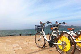 通勤にもお出かけにも!高松市のシェアサイクル「anabukiシェアバイク」で日常を快適に