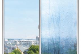 窓の結露対策~動画でわかる真空ガラスの効果~