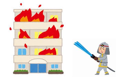 マンションの消防設備点検|移動粉末消火設備って何?
