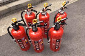 不要になった廃消火器の処分方法と手順