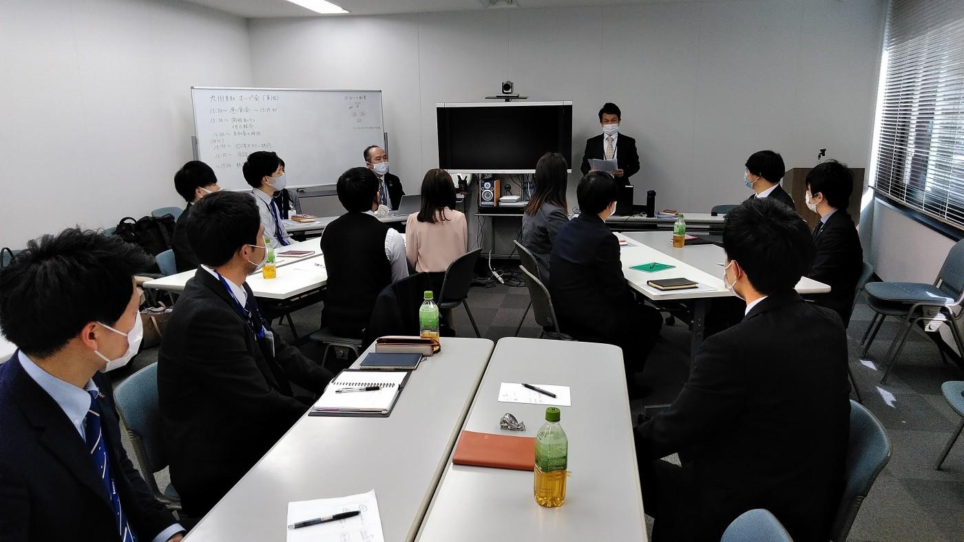 【新入社員研修】同期全員集合!九州支社ホープ会