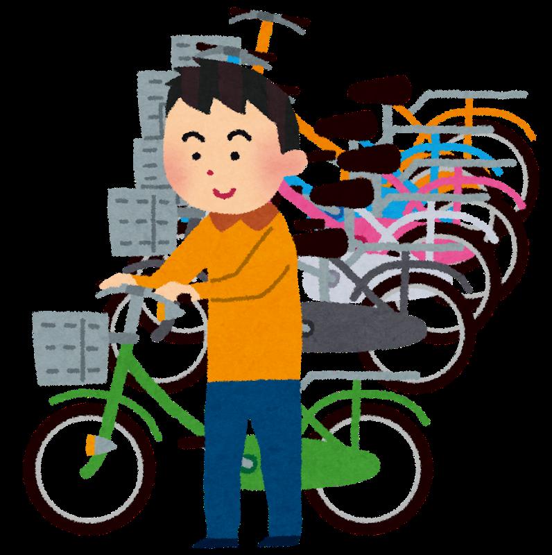 マンション駐輪場の自転車整理方法について